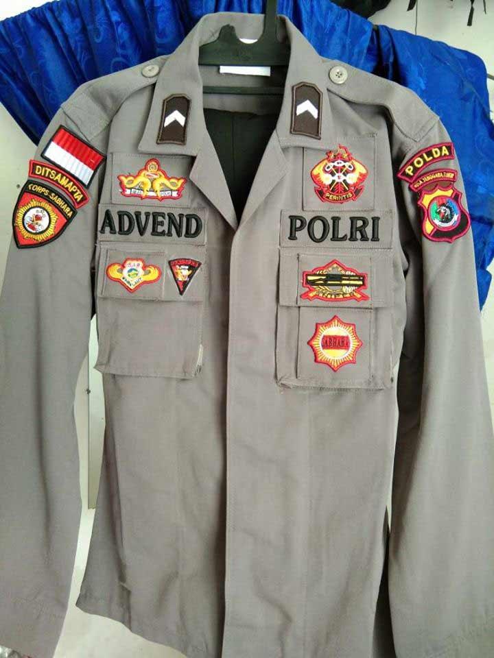baju dinas polisi 2