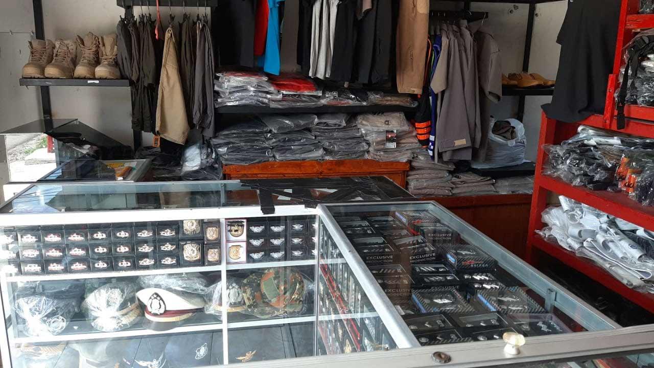 toko perlengkapan dinas kupang 2