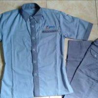 seragam pkss kupang biru