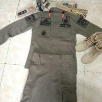 seragam satpol pp kupang